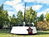 Памятник зенитка
